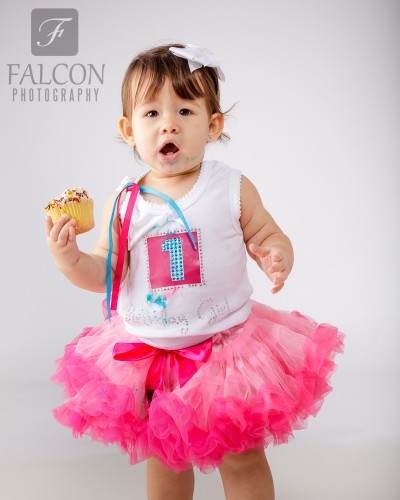 Falcon Photography 1 year cake smash